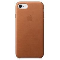 Apple iPhone 8 / 7 Leder Case sattelbraun