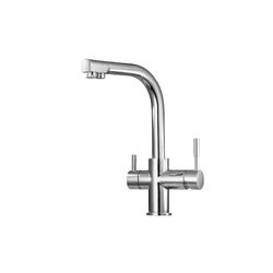WISTUM Küchenarmatur Küchenarmatur 3 Wege Trinkwasserhahn Spültischarmatur 3 In 1
