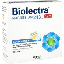 Biolectra Magnesium 243 forte Zitrone