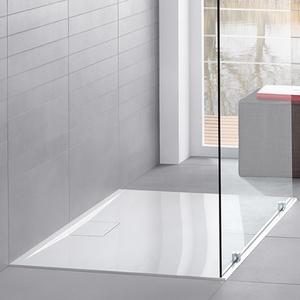 Villeroy & Boch Architectura MetalRim Rechteck-Duschwanne L: 120 B: 90 H: 4,8cm extraflach weiß UDA1290ARA248V-01