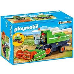 Playmobil - Mähdrescher mit Mähdreschfahrer und 6 Garben Heu , limited Edition