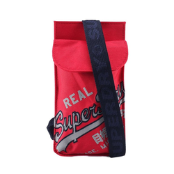 Superdry Umhängetasche Superdry Citybag CNY TECH POUCH LANYARD Red