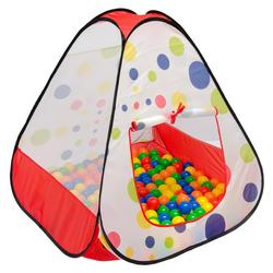LittleTom Spielzelt Spielzelt Kinderzelt Pop-Up-Zelt Bällebad Zelt Kinderspielzelt inkl. Tasche
