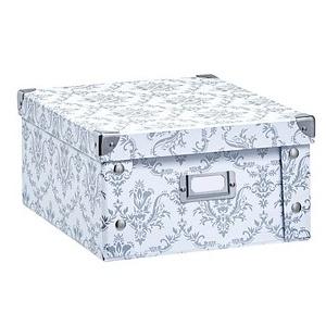 Zeller Aufbewahrungsbox 9,6 l weiß 26,0 x 31,0 x 14,0 cm