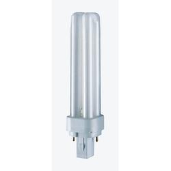 OSRAM Energiesparlampe DULUX D G24 d-1 10 W matt