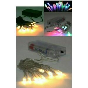 LED Lichterkette/Außen/Innen/20/Batterie/Draht/Micro/Timer/30/SMD/USB