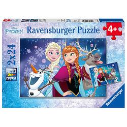 Ravensburger Disney Frozen Nordlichter Puzzle 2x 24 Teile