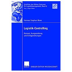 Logistik-Controlling. Hannes Blum  - Buch