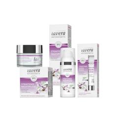 lavera Gesichtspflege-Set, 3-tlg., Straffende Gesichtspflege Anti-Age Set Tages- Nacht- Augenpflege