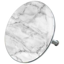 Sanilo Stöpsel Marmor, für Badewannen und Duschen, Ø 7,2 cm
