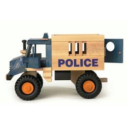 ERST-HOLZ Spielzeug-Auto 928-0014, uniwood Police nachhaltiges Holzspielzeug 928-0014
