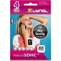 xlyne microSDHC 4GB Class 4