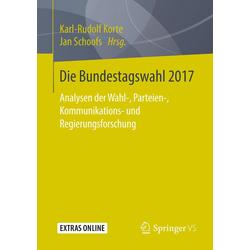 Die Bundestagswahl 2017 als Buch von