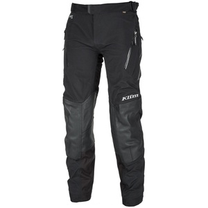 Klim Kodiak Motorrad Textil/Lederhose, schwarz, Größe L 33 34