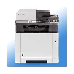 Kyocera M5526CDN - Multifunktions Farblaserdrucker inkl. UHG