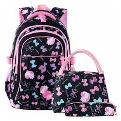 kueatily Schulrucksack Schultasche, Schulrucksack für Mädchen, Schultasche, Rucksack, Kindertagesrucksack
