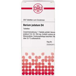 BARIUM JODATUM D 4 Tabletten 200 St.
