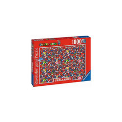 Ravensburger Puzzle Puzzle Super Mario Bros Challenge, 1.000 Teile, Puzzleteile
