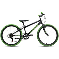 KS-CYCLING Crusher 24 Zoll RH 31 cm schwarz/grün