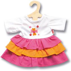 Puppenkleid Pinky, Gr. 35-45 cm