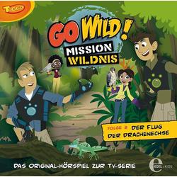 Edel Hörspiel CD Go Wild 02 - Der Flug der Drachenechse