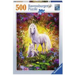 Einhorn mit Fohlen - Puzzle mit 500 Teilen