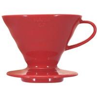 Hario V60 Porzellan Kaffeefilter Gr.2 Rot