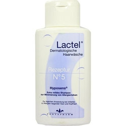 LACTEL Nr.5 Shampoo hypoallergen 200 ml