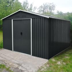 """Pergart Gerätehaus """"Dresden II 1012"""",schwarz,10,33 m²"""