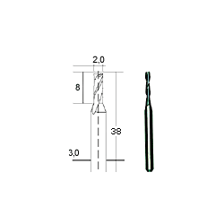 Proxxon HM-Multifräser, 2 mm