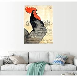 Posterlounge Wandbild, Cocorico 60 cm x 80 cm