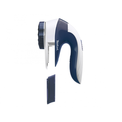 TEFAL JB1013 (weiß/blau) Fusselrasierer (für Kleidung Teppiche, Gardinen etc.)