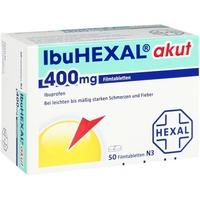Hexal IbuHEXAL akut 400 mg Filmtabletten 50 St.