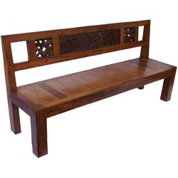 Guru-Shop Stuhl Rustikale Gartenbank - Modell 11
