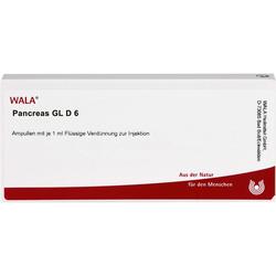 PANCREAS GL D 6 Ampullen 10 ml