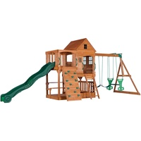 Backyard Discovery Spielturm Hillcrest mit Schaukeln B1808058