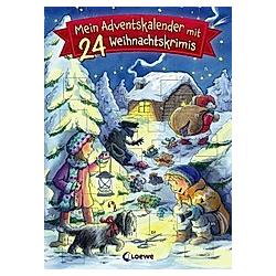 Mein Adventskalender mit 24 Weihnachtskrimis - Buch
