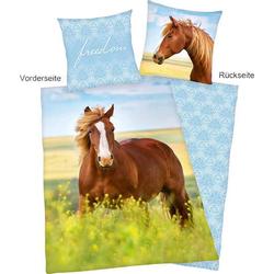 Pferde Bettwäsche 135x200cm
