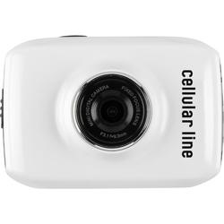 Cellularline Motion, Kamera Mini LCD - Weiß