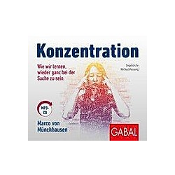 Konzentration, 1 Audio-CD, MP3 Format