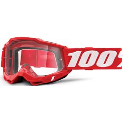 100% Accuri II Motocross Brille, rot