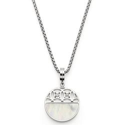 LEONARDO Kette mit Einhänger Larina, 019565, mit Kristallglas - mit Perlmutt