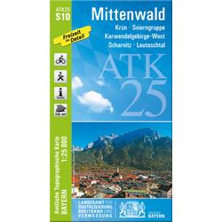 Mittenwald 1:25 000