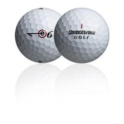 'Lakeballs Bridgestone e6 25er Netz Qualität AAA/AA weiss'