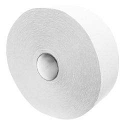 Toilettenpapier Tissue JUMBO 2-lagig Ø 27cm weiß,  6 Stk.