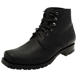 Sendra Boots Sendra Boots 10604 Negro Herren Schnürstiefel Schwarz Stiefelette 46 EU