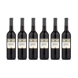 AFFENTALER WEIN Das besondere Fass 6 Flaschen Merlot Rotwein trocken Jahrgang 2019