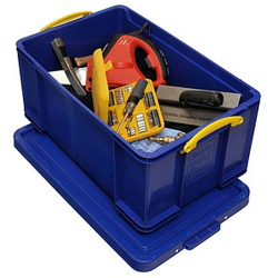 Really Useful Box Aufbewahrungsbox 64,0 l blau 71,0 x 44,0 x 31,0 cm