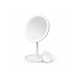 Tomons Kosmetikspiegel LED Beleuchtet Dimmbar, 5 fach Schminkspiegel, Makeup Spiegel, Badspiegel, Helligkeit Dimmbar, 3 Farbtemperaturen, USB Aufladbare
