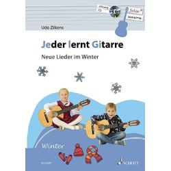 Jeder lernt Gitarre - Neue Lieder im Winter